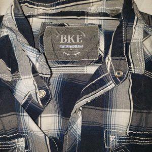 BKE Shirts - BKE BUCKLE MENS Athletic Fit long sleeve shirt